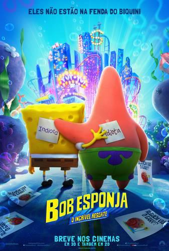 Cartaz de Bob Esponja - O Incrível Resgate/Paramount