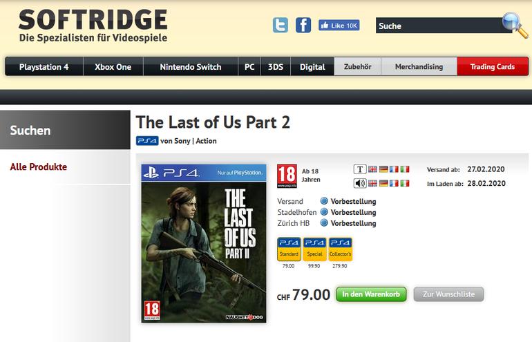 The Last of Us: Parte II chega em 28 de fevereiro, sugere listagem 1