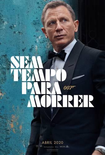 Daniel Craig em pôster de No Time to Die/MGM/Divulgação