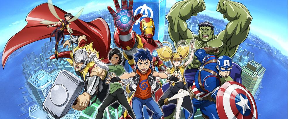 Anime Future Avengers estreia em 28 de fevereiro na Disney+