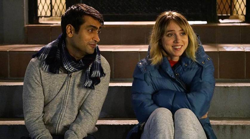 Kumail Nanjiani e Zoe Kazan em Doentes de Amor