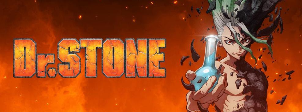 Imagem promocional de Dr Stone/Crunchyroll/Divulgação