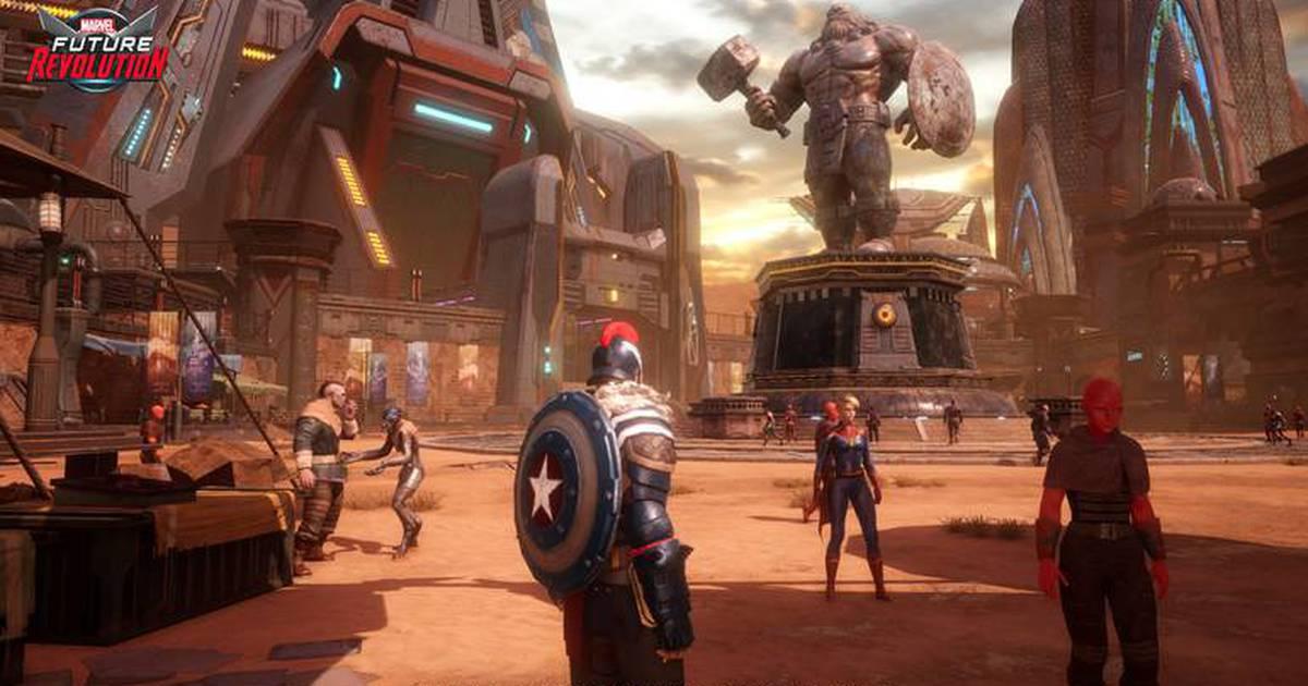 Marvel Future Revolution recebe data de lançamento
