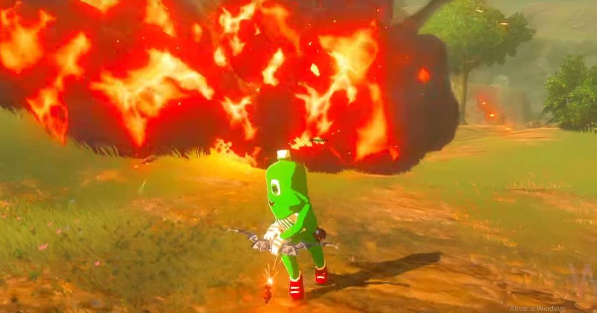 The Legend Of Zelda Breath Of The Wild - Dollynho é o seu amiguinho