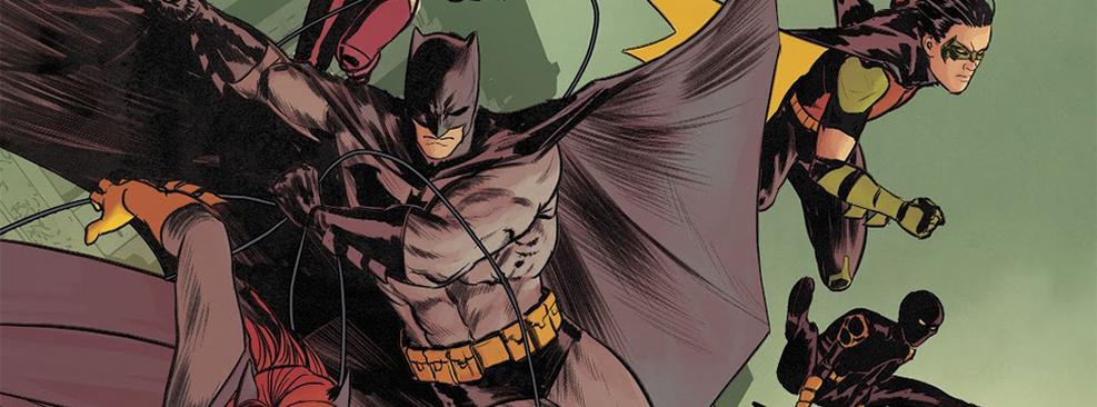 Quadro da revista Batman/DC Comics