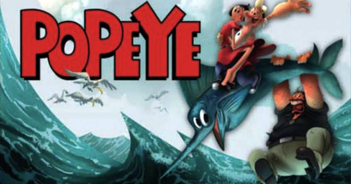 Popeye   Filme 3D de Genndy Tartakovsky ganha sua primeira imagem