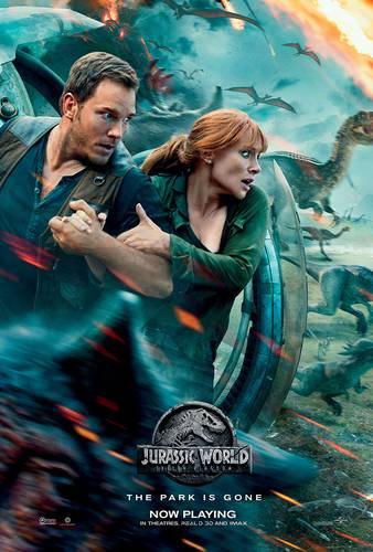 Cartaz de Jurassic World: Reino Ameaçado