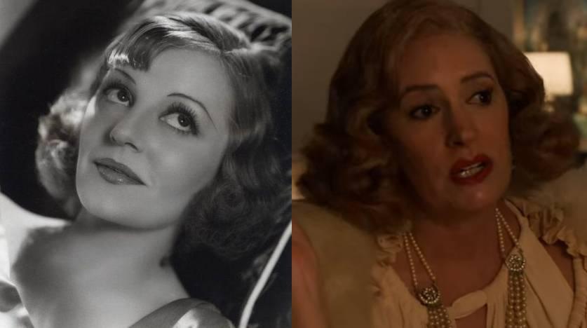 Tallulah Bankhead em Mulher Infiel e Paget Brewster em Hollywood