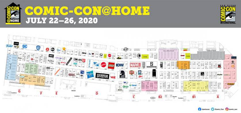 Programação  da San Diego Comic-Con Online 8