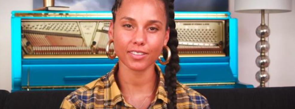 Alicia Keys em Nick News - Crianças Unidas Contra o Racismo