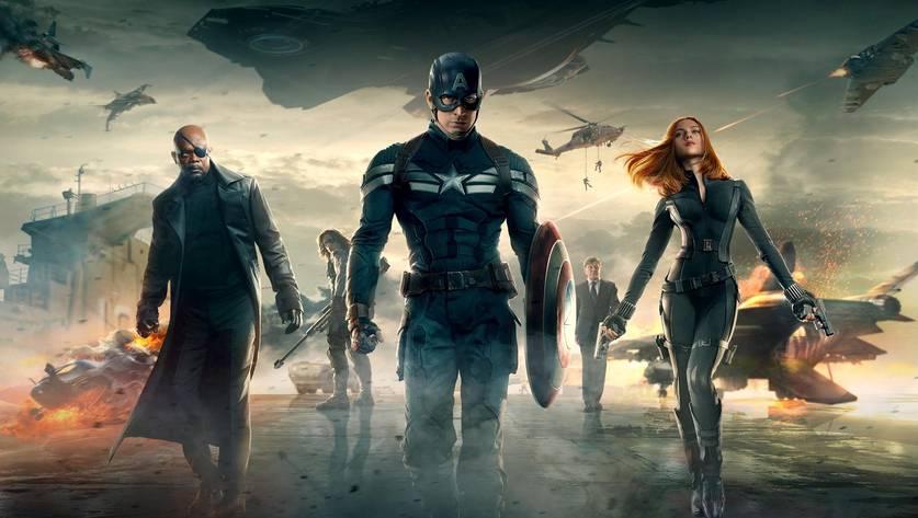 Capitão América 2: Soldado Invernal, da Marvel Studios
