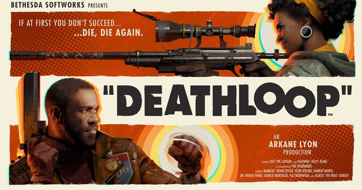 Imagem oficial de Deathloop