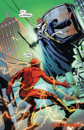 Cena com Harvey Dent, o Superman da Terra 9, e Barry Allen