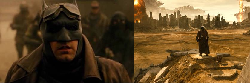 Imagens de Ben Affleck como Batman em Batman vs Superman