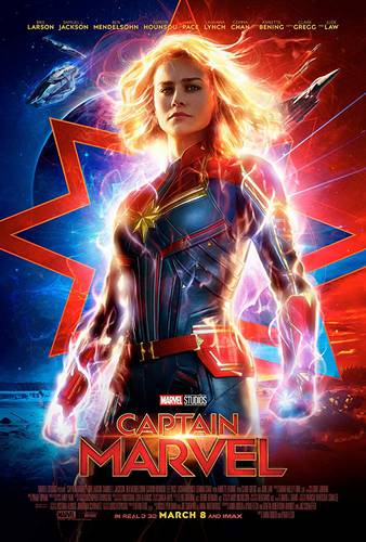 Cartaz Capitã Marvel
