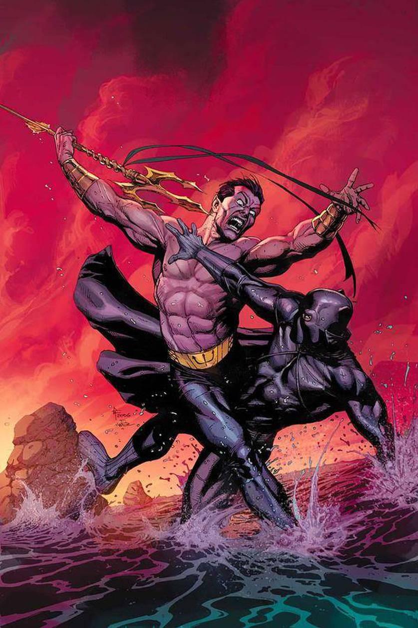 Pantera Negra x Namor