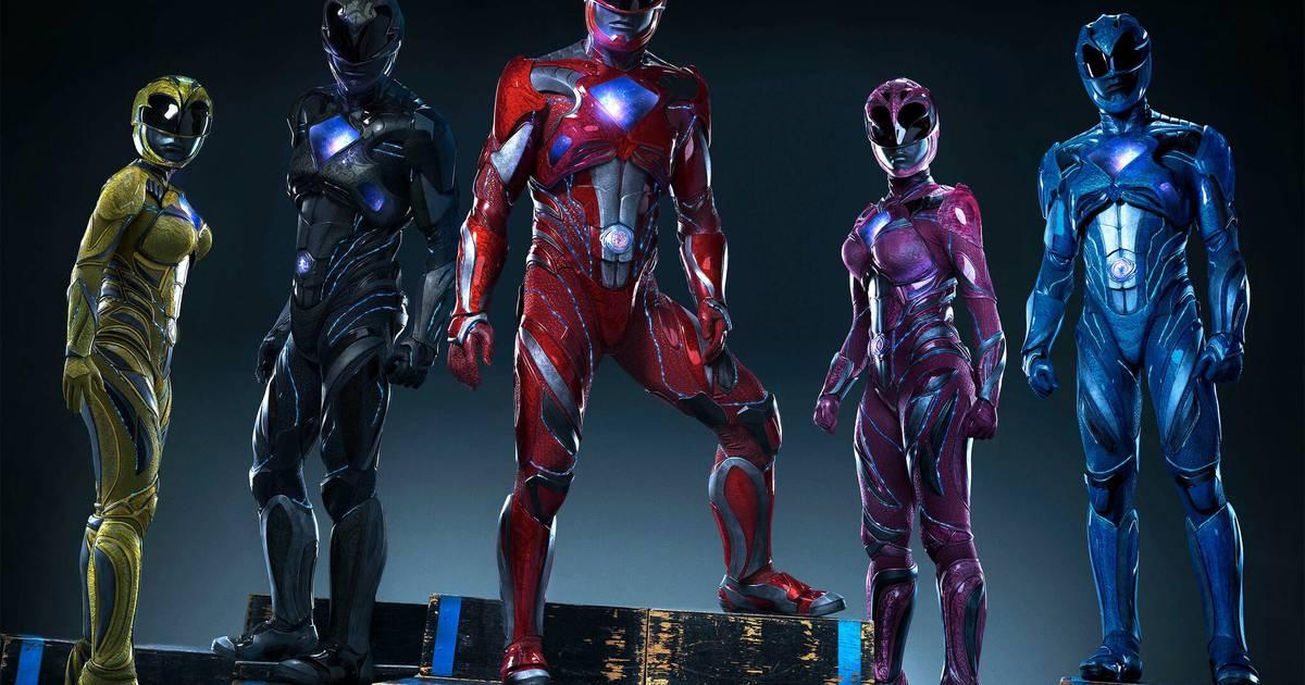 Power Rangers   Veja o pôster teaser em português do filme