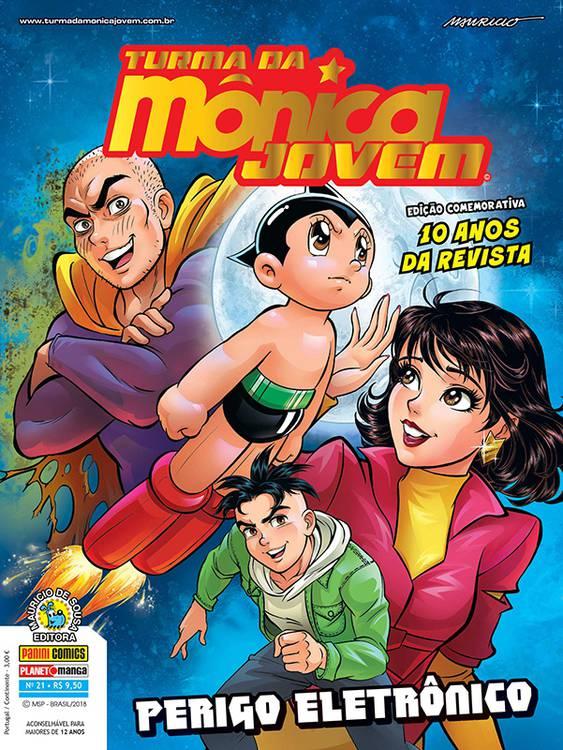 [OFF-TOPIC]Turma da Mônica Jovem reencontra Astro Boy em nova edição da HQ 1