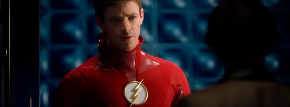 Grant Gustin como Barry Allen em The Flash, da CW
