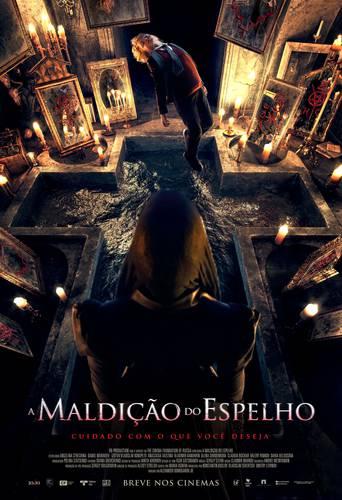 Cartaz de A Maldição do Espelho/Paris Filmes