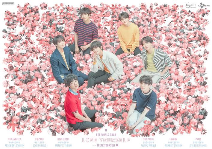 Grupo de k-pop BTS confirma show em São Paulo