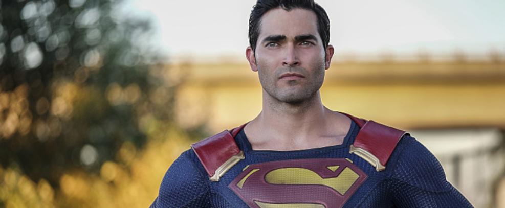 Tyler Hoechlin como Superman em Supergirl