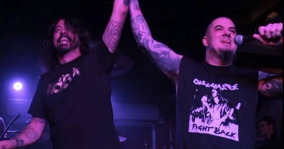 Dave Grohl, Metallica e Slayer se apresentam juntos - confira