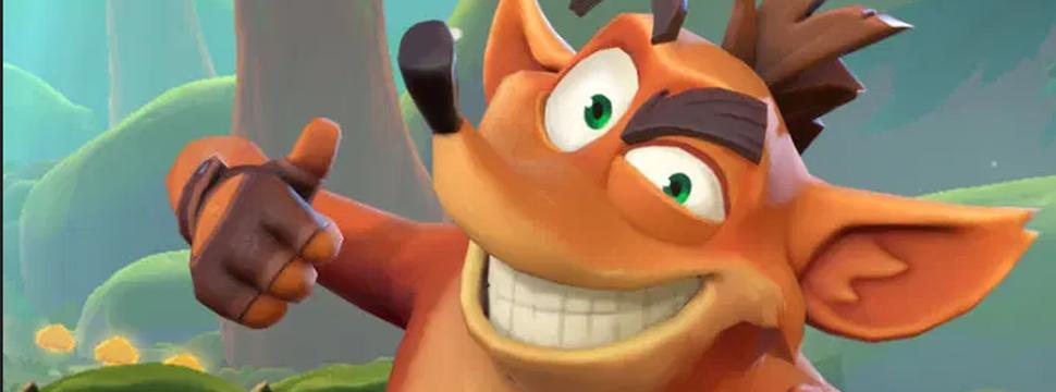 Crash Bandicoot ganhará jogo mobile