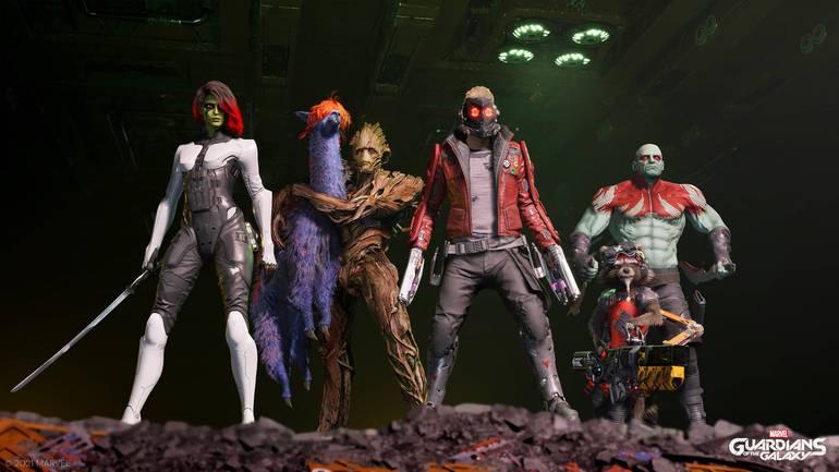 Marvel's Guardians of the Galaxy chega em outubro