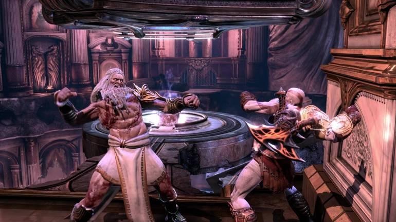Zeus God Of War 3
