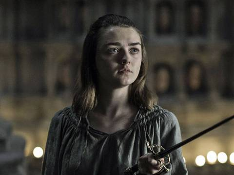 Maisie Williams como Arya Stark / Macall B. Polay/ Divulgação/ HBO