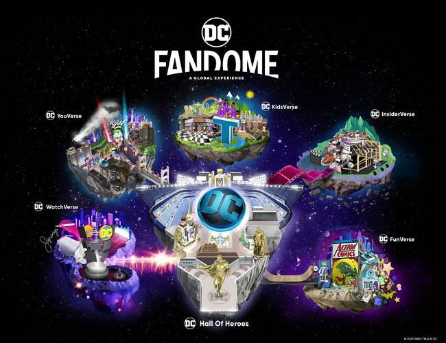 Mapa Oficial DC Fandome