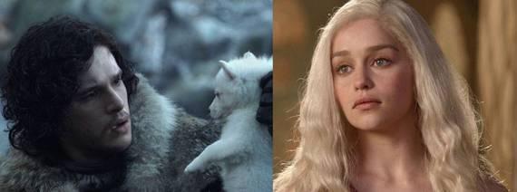 Game Of Thrones As Linhas Do Tempo De Jon Snow E Daenerys