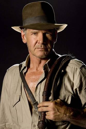 Harrison Ford em foto de divulgação de Indiana Jones 5