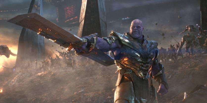 Thanos em Vingadores: Ultimato