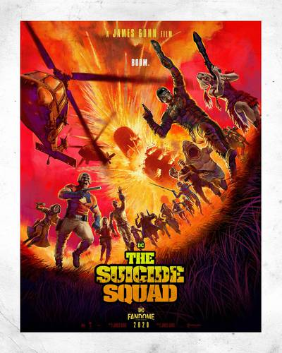 Cartaz de The Suicide Squad