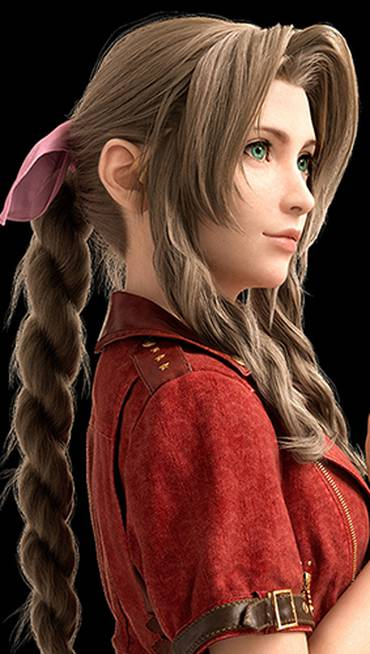 Aerith, de Final Fantasy VII Remake; leia a análise completa no The Enemy