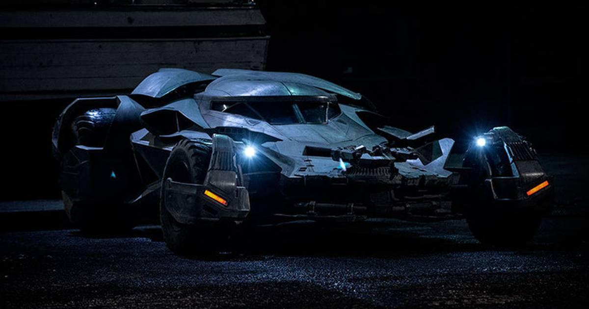 Batman Vs Superman: a Origem da Justiça | Vídeo mostra detalhes do novo Batmóvel