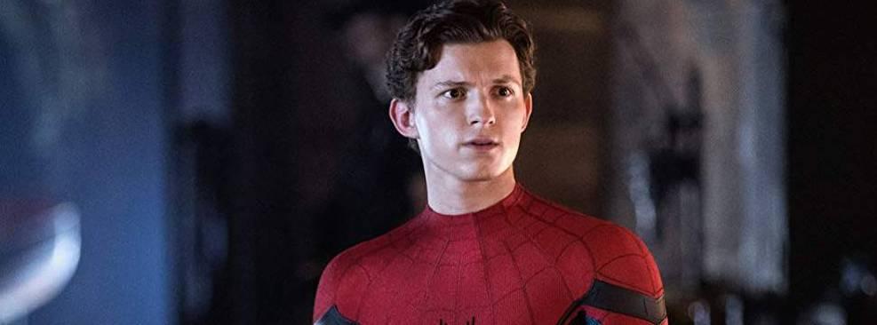 Tom Holland em Homem-Aranha: Longe de Casa