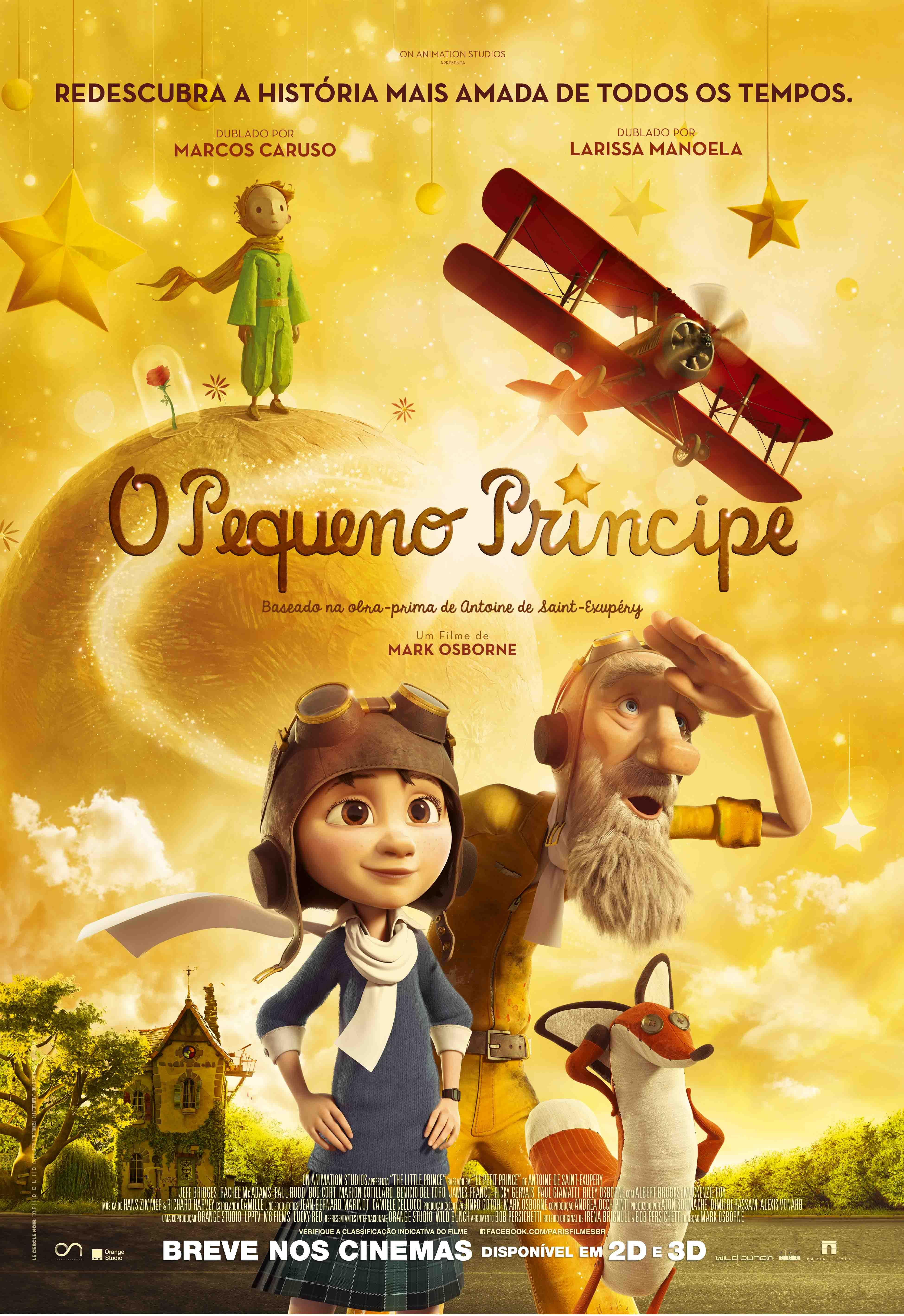 Filme O Pequeno Principe 2015 with regard to o pequeno príncipe (2015)   omelete