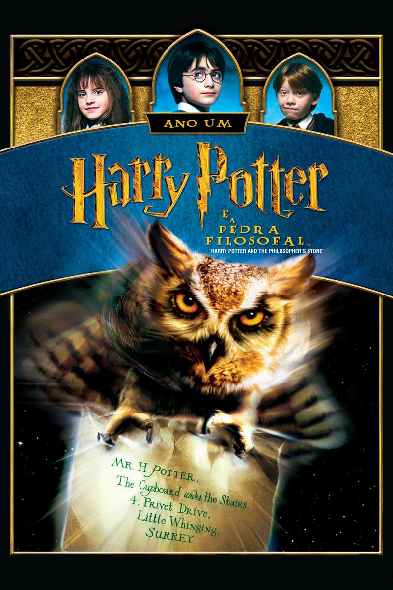 Harry Potter É A Pedra Filosofal with regard to harry potter e a pedra filosofal (2001)   omelete