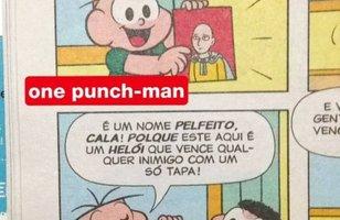 Turma da Mônica faz homenagem ao One Punch-Man