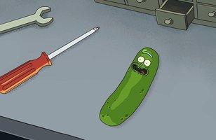 """Rick and Morty   Showrunners de Game of Thrones comentam cena de """"Pickle Rick"""" em especial do Blu-ray da 3ª temporada"""