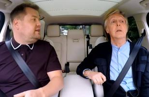 Paul McCartney canta clássicos e faz show surpresa em pub em Carpool Karaoke