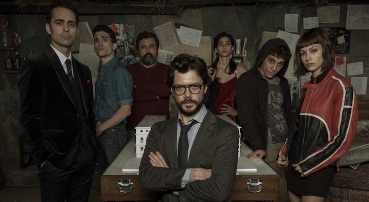 """Resultado de imagem para La Casa de Papel: """"ficha criminal"""" e tudo sobre os 10 personagens principais da série"""