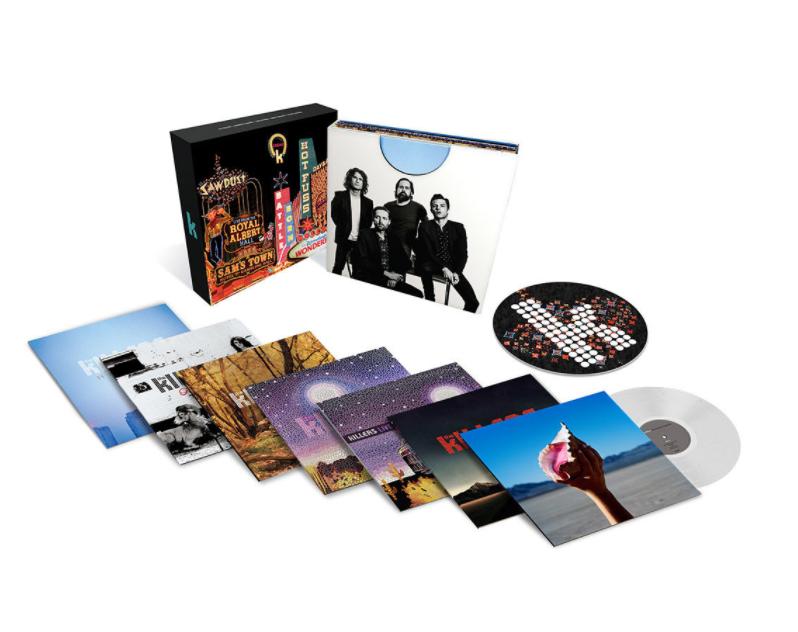 Resultado de imagem para The Killers lançará box com discografia em vinil