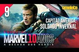 A REVOLUÇÃO DA MARVEL: Capitão América - O Soldado Invernal | Marvel 10 Anos