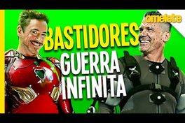 SEGREDOS DOS BASTIDORES DE GUERRA INFINITA | OmeleTV