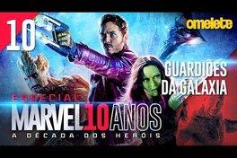 A MARVEL NO ESPAÇO: Guardiões da Galáxia | Marvel 10 Anos #10