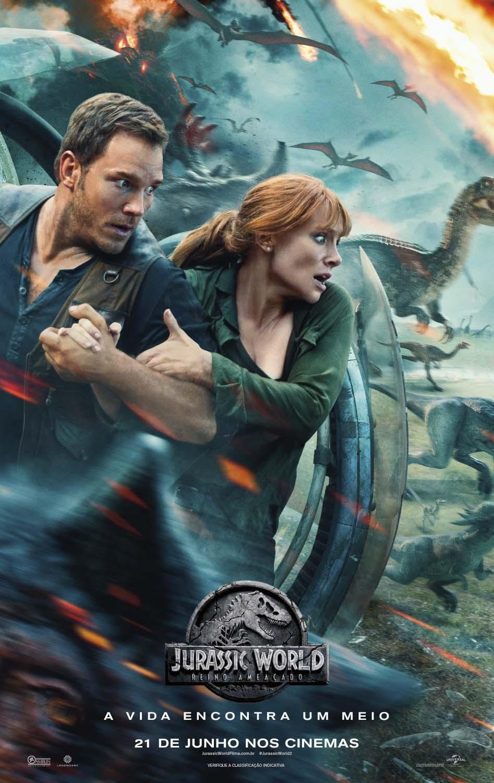 Jurassic World - Reino Ameaçado - Poster Internacional
